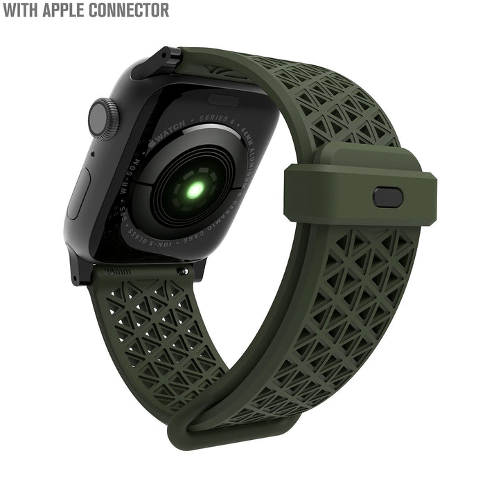 CAT42SBGRN-CA | Catalyst Sport Band for 42 & 44MM Apple Watch