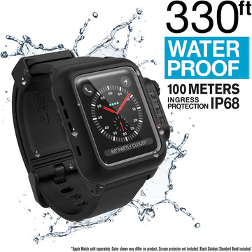 CAT42WAT3BLK-CA | Waterproof Case for 42mm Apple Watch Series 3
