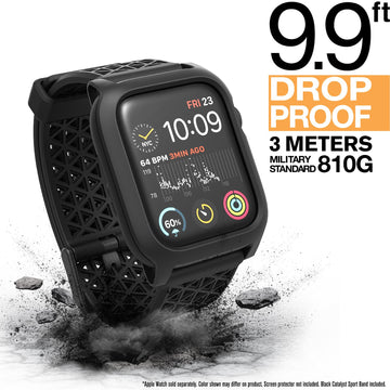 CAT44DROP5BLK | Impact Protection Case V2 for Apple Watch Series 5 & 4 - 44mm