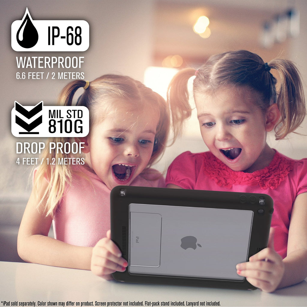 Waterproof Case for iPad 9.7-inch - 5th & 6th Generation