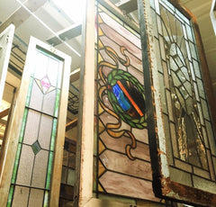 Stained Glass Window Transoms