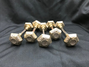 Solid Brass Eastlake Replica Doorknob Sets