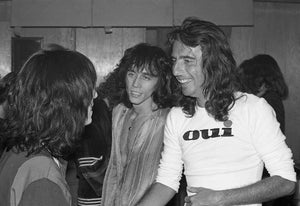 Alice Cooper with Patti Smith