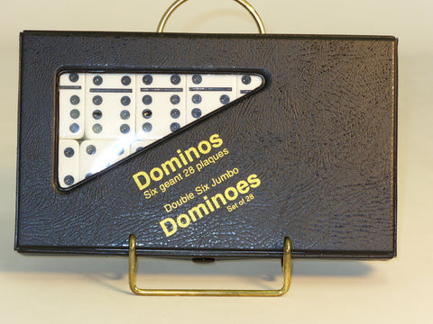 Dbl 6 white Dominoes