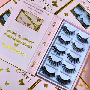 FAUX MINK LASH BOOK *Butterfly Dreams Edition*