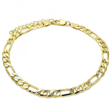 Figaro Cuban Anklet (thick)