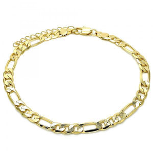 Figaro Anklet (7mm thickness)