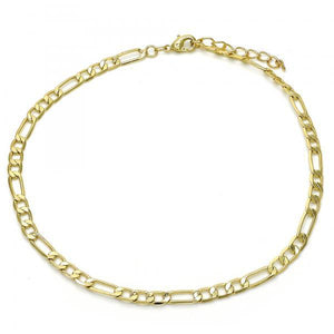 Figaro Cuban anklet (thin)
