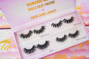 Customizable lash book (3D Mink)