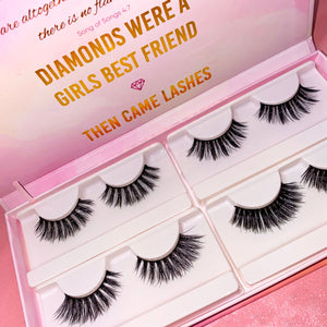 Customizable lash book (Faux mink)