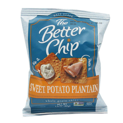 The Better Chip - Sweet Potato Plantain - Case of 27 x 42g