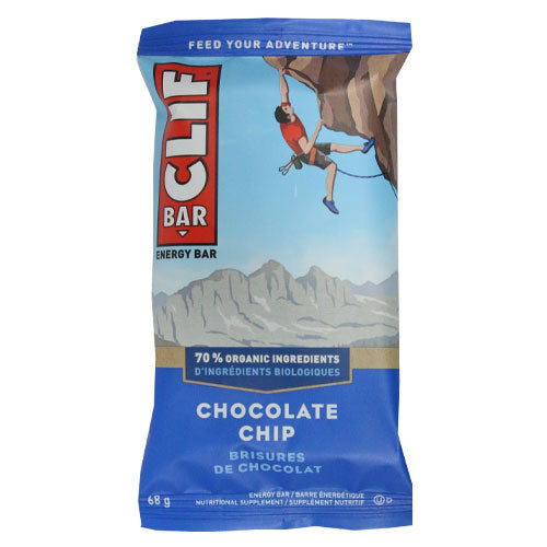 Clif Bar - Chocolate Chip - Case of 12 x 68g