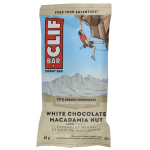 Clif Bar - White Chocolate Macadamia Nut - Case of 12 x 68g