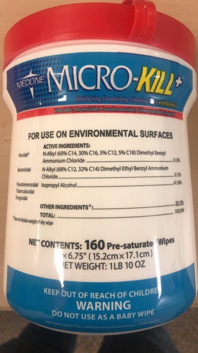 Micro-Kill+ Disinfecting Wipes