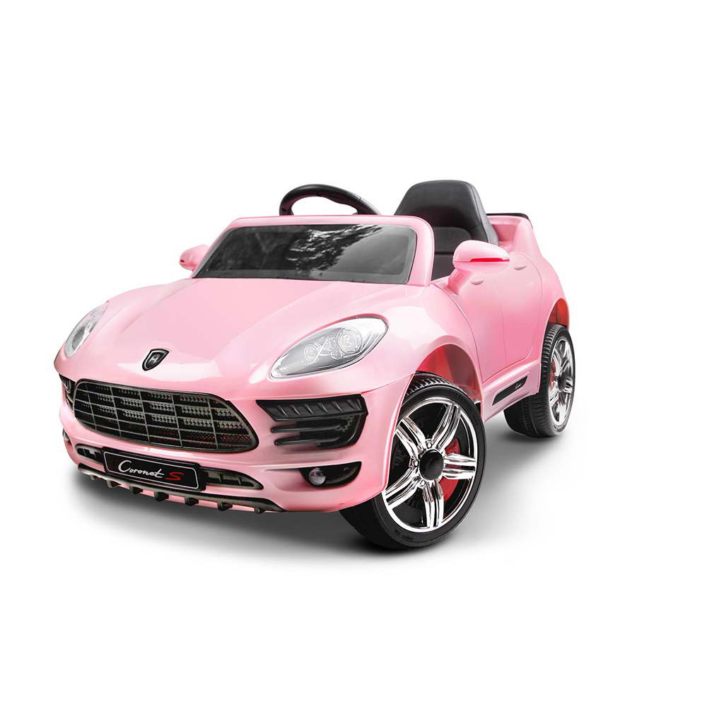 Porsche Style Kids Electric Ride On Car In Pink Savings Zone