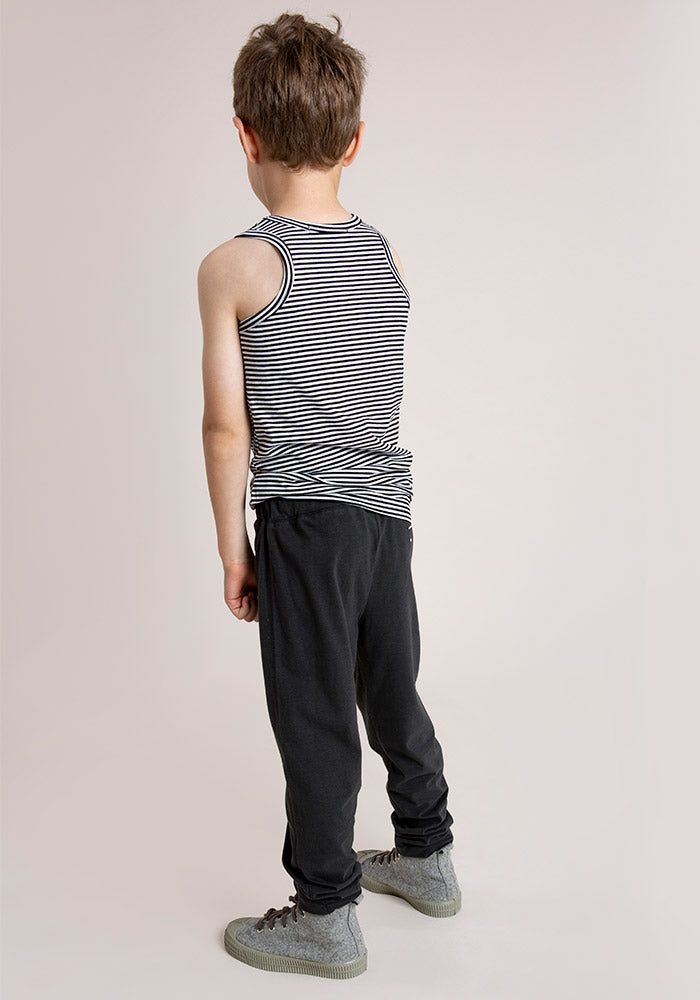 RELAXED JERSEY PANTS.