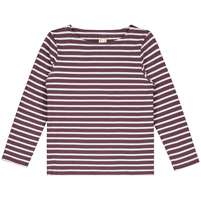 LONG-SLEEVED STRIPED T-SHIRT.