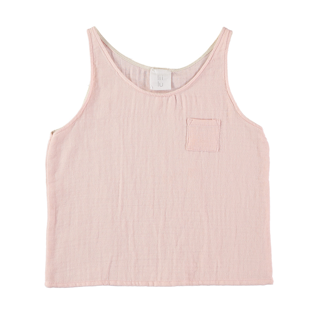 TANK TOP WITH POCKET.