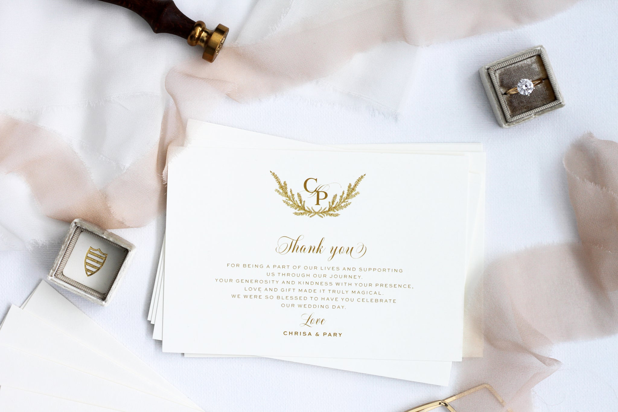 Thank You Cards Paradise Invitations