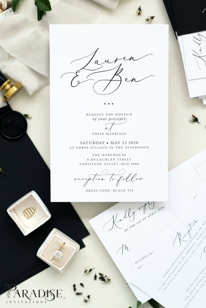 Mila Wedding Invitation Sets