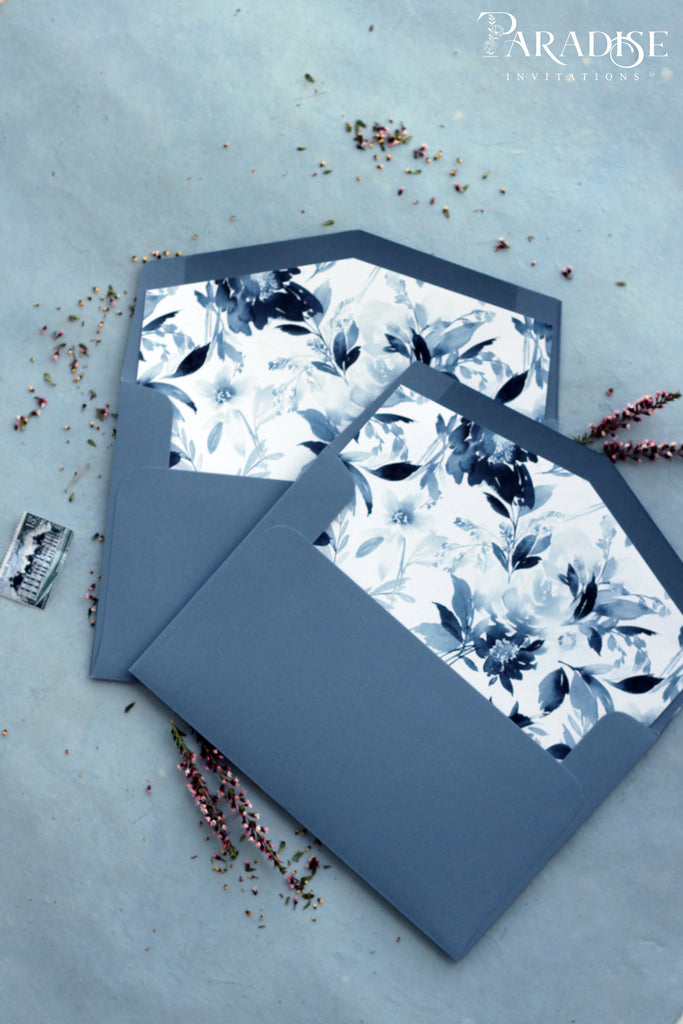 Dusty Blue Envelope Liners