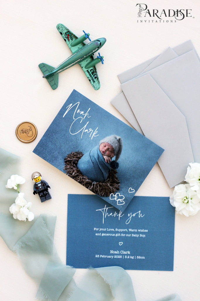 Mavise Birth announcements, Digital or Printed Baby Announcement, Thank you Baby Cards