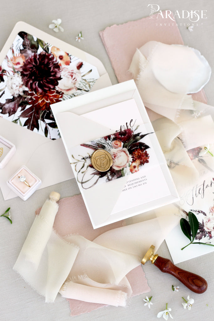 Angela Wedding Invitation Set