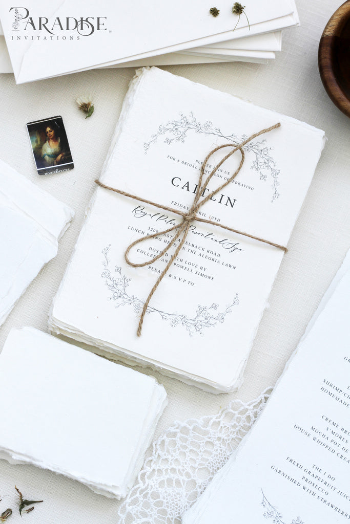 Minna Handmade Wedding Invitations