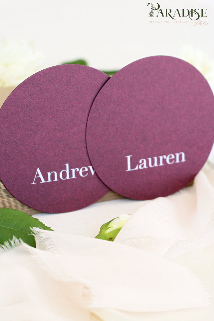 Braelynn Circle Place Cards