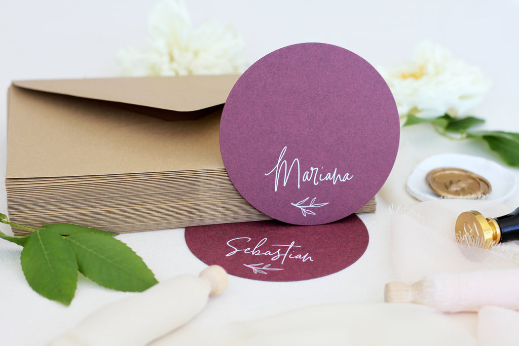 Brea Circle Place Cards