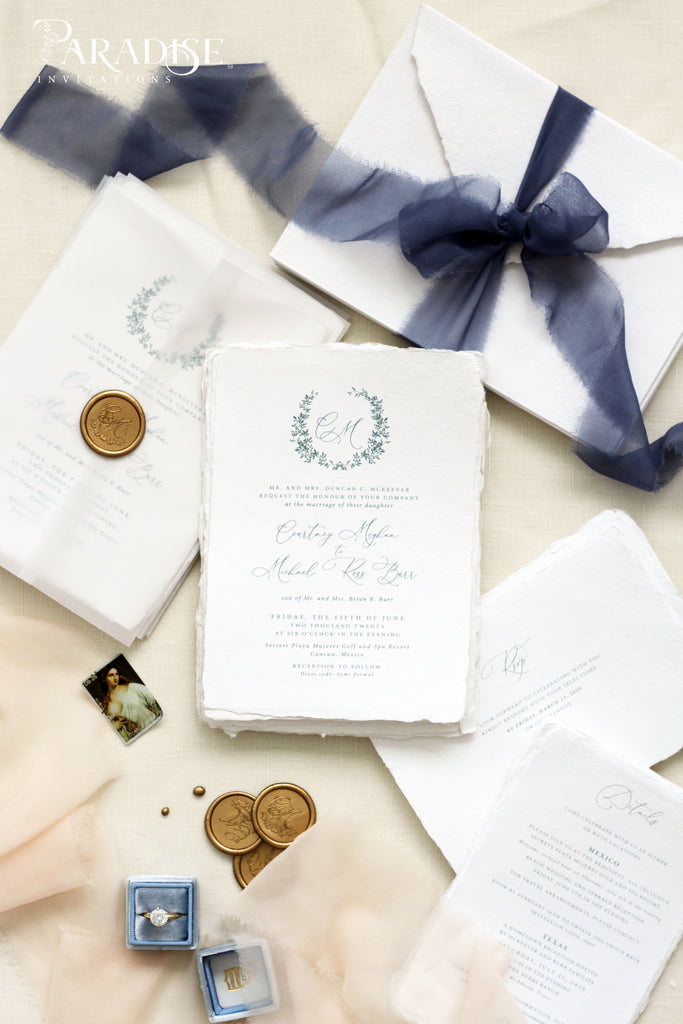 Maibelle Handmade Wedding Invitation