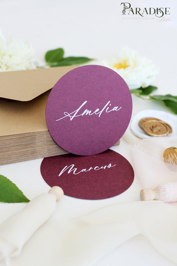 Addilyn Circle Place Cards