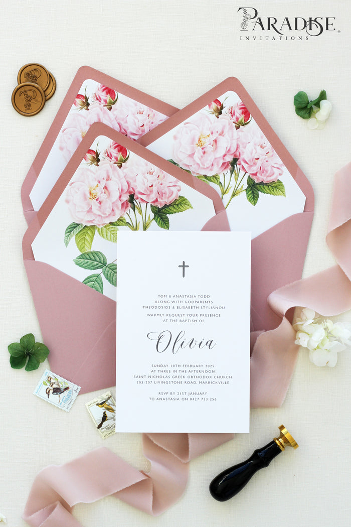 Georgine Elegant Christian Invitation