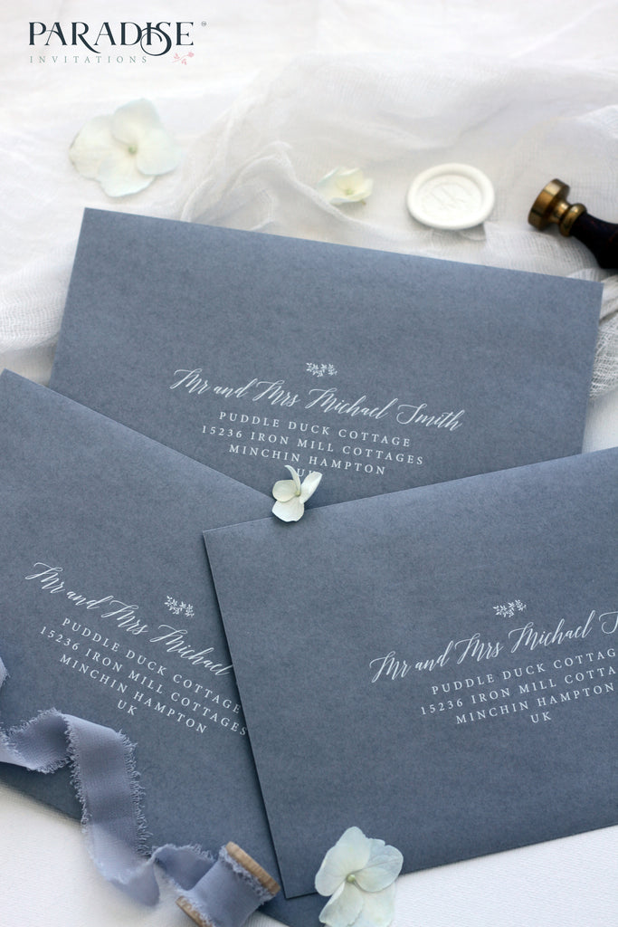 Alchemy Grey Elegant Envelopes