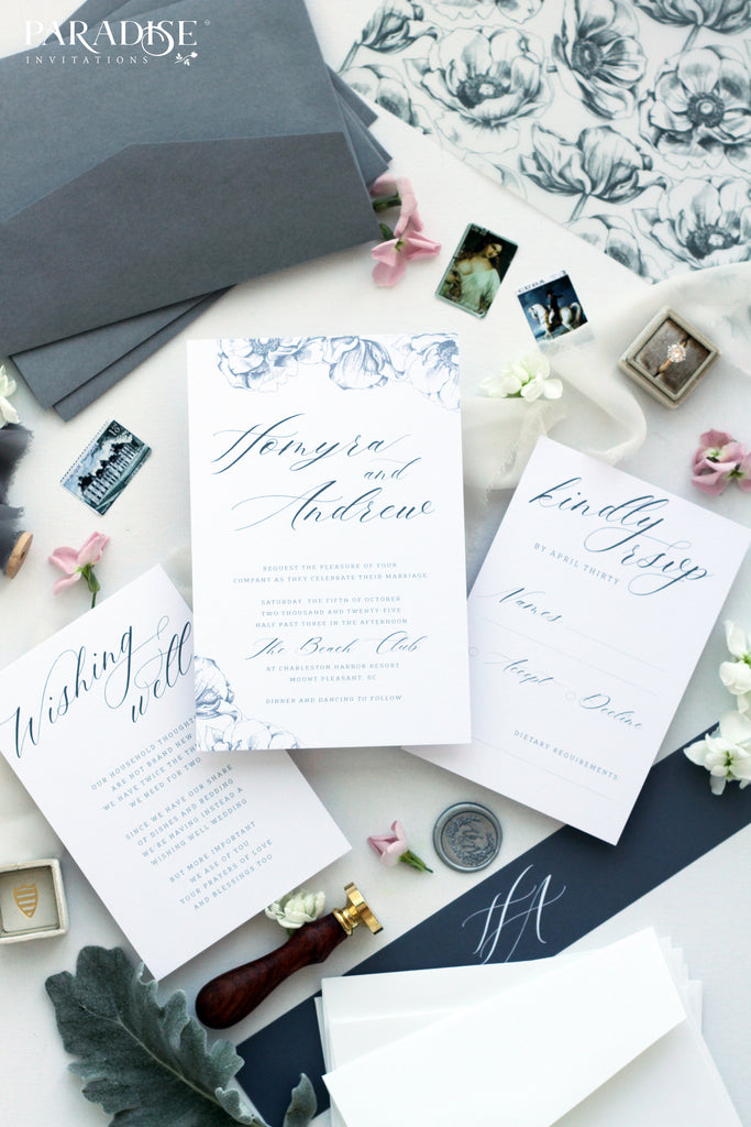 Dulcette Vellum Wrap Wedding Invitations