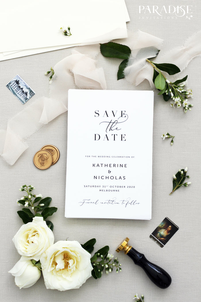 Jenay Elegant Save the Date
