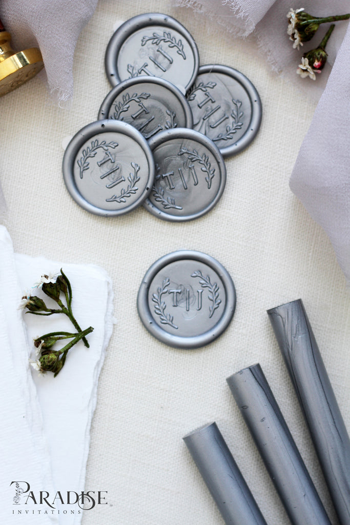 Silver Custom Wax Seals