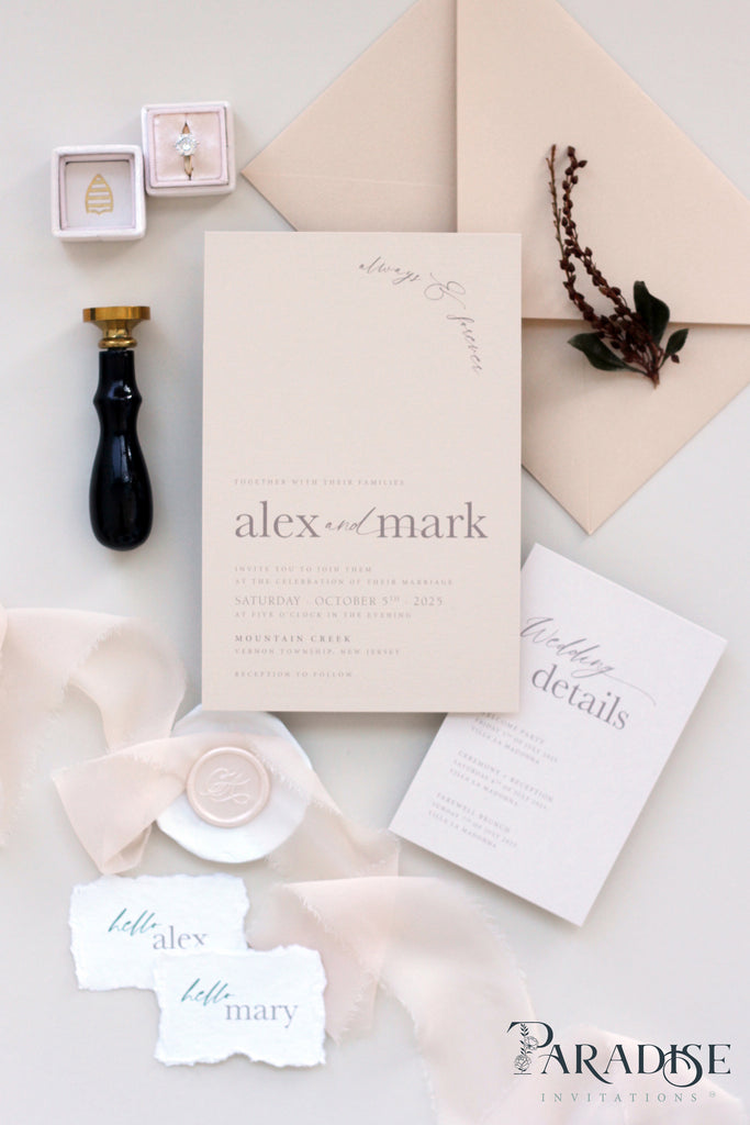 Lise Wedding Invitation Sets