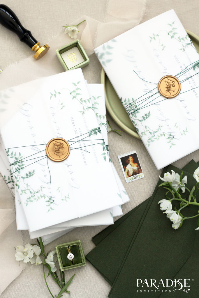 Soleil Concertina Wedding Invitations
