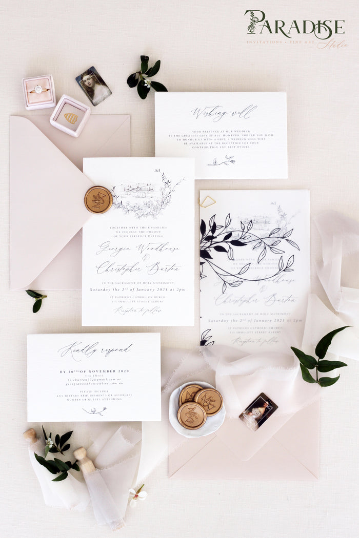Eurydice Wedding Invitation Sets