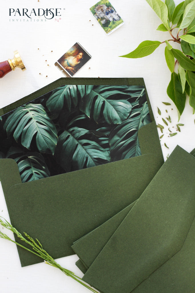Tropical Style Envelope Liners
