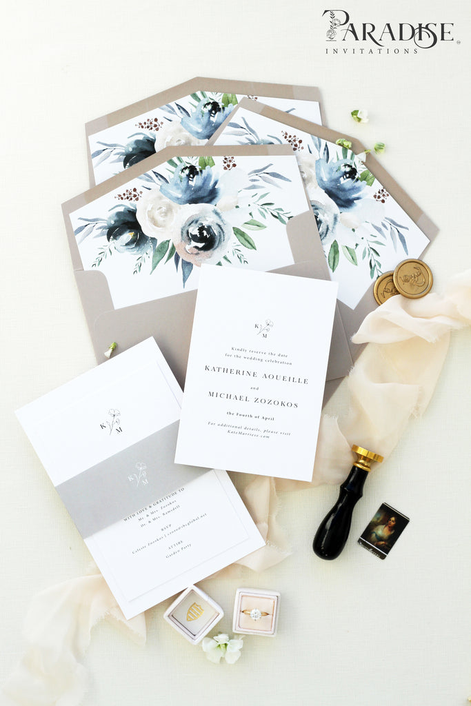 Hanrietta Elegant Save the Date