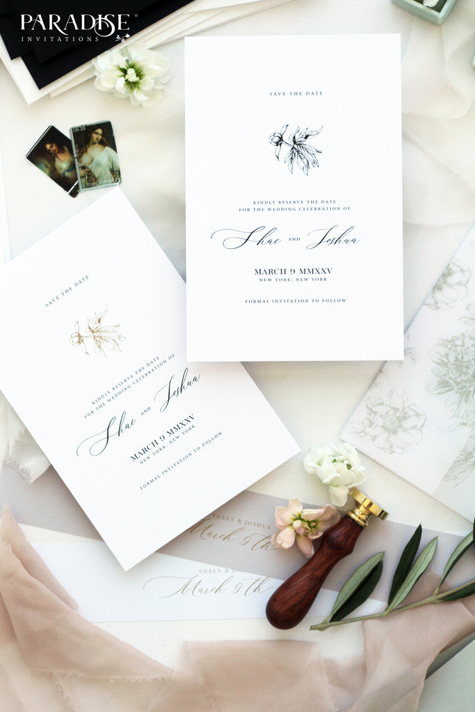 Albane Save the date cards