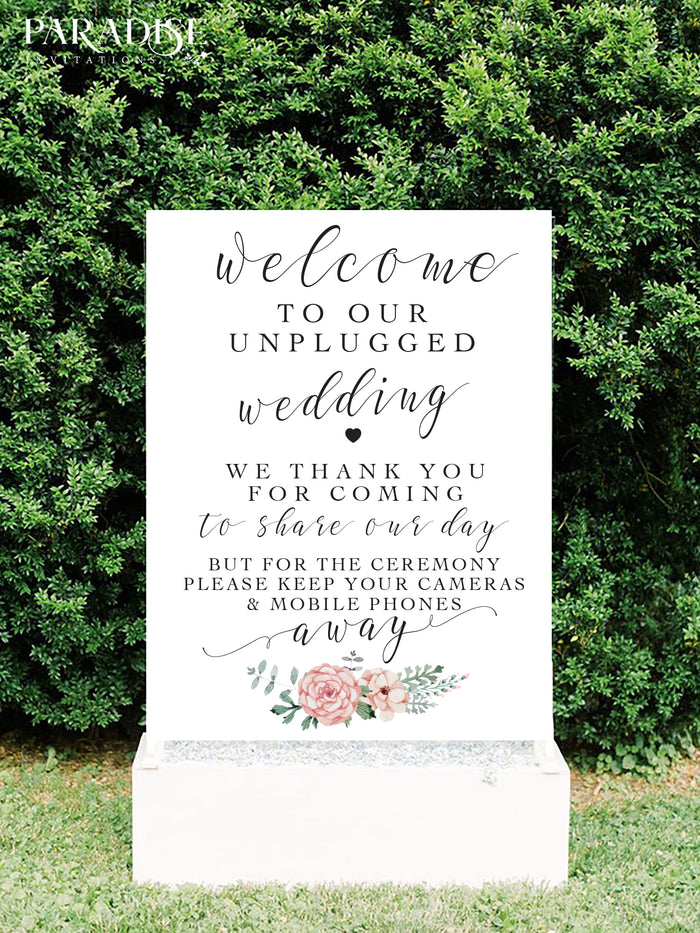 Dorine Wedding Welcome Sign