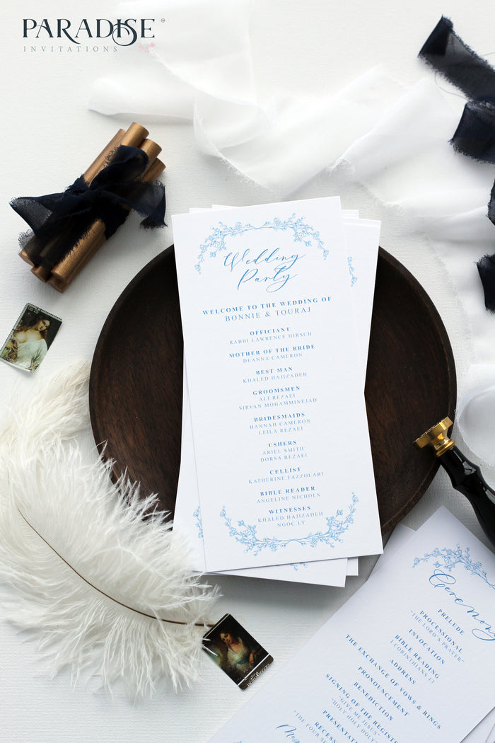 Adora Elegant Wedding Program