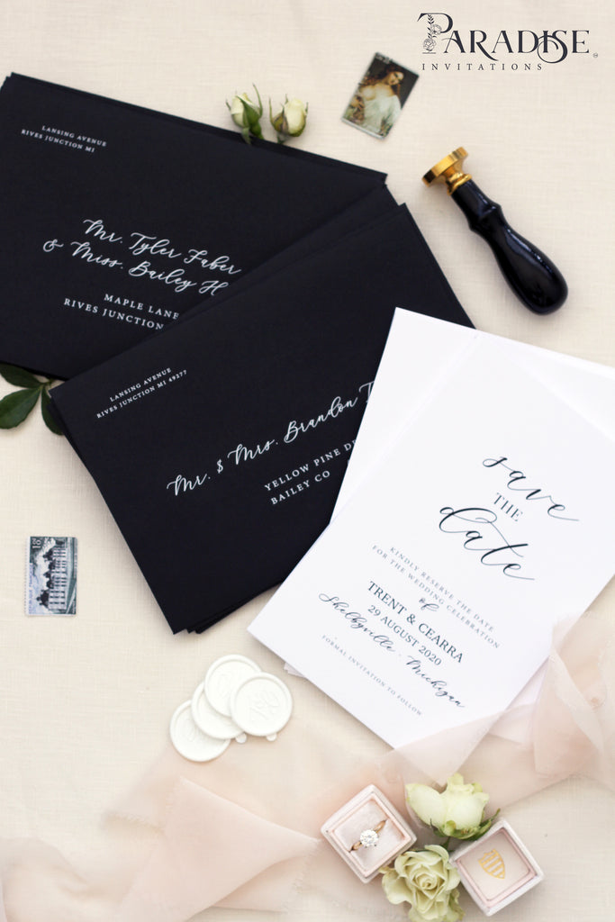 Marian Elegant Save the date cards