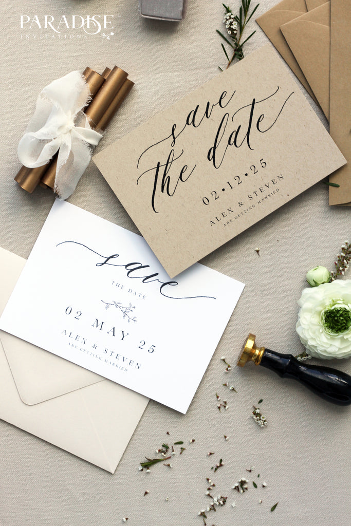 Felicity Bohemian Style Save the Date
