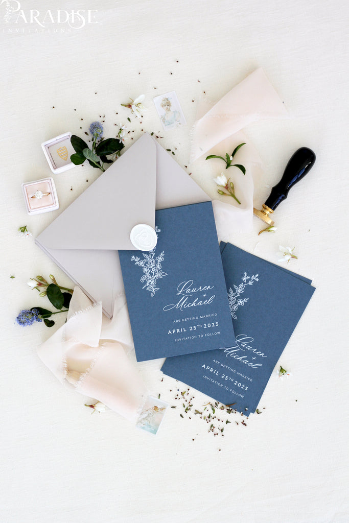 Yael Marina Save the Date Cards