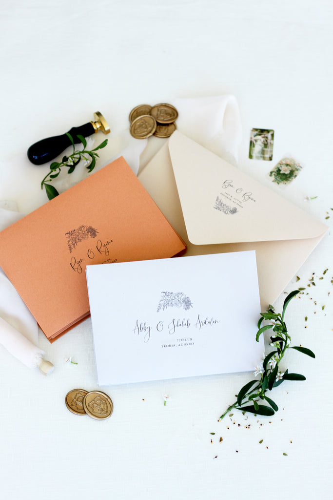 Regina Bohemian Wedding Invitation