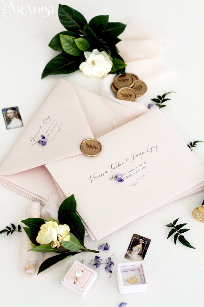 Rudi Nudi Envelopes and Black Ink Address Printing